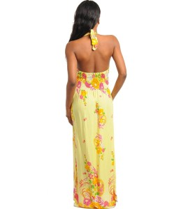 Yellow Flower Dress.1